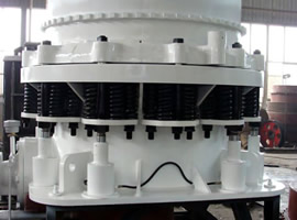Cone Crusher for Gypsum India