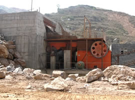 600 tph Granite Crushing Plant in Ghana