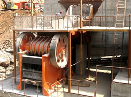 300 tph Basalt Crusher Plant in Kenya