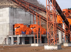700 tph Iron Ore Crushing Plant in Mongolia